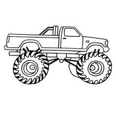 Free Printable Monster Truck Coloring Pages For Kids Birthday