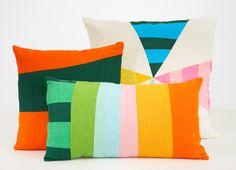Doug and Gene Meyer pillows
