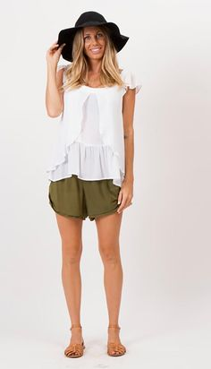 """""""That Was Then"""" butterfly front nursing top - White Fillyboo - Boho inspired maternity clothes online, maternity dresses, maternity tops and maternity jeans."""