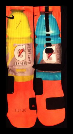 Gatorade Custom Parody Nike Elite Socks by LuxuryElites on Etsy, $35.99