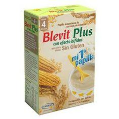 BLEVIT Plus Papilla sin Gluten Efecto Bífidus 600g.