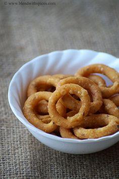 Chegodilu Recipe - A Traditional Andhra Savory Snack - Diwali Snacks Recipes | Indian Cuisine