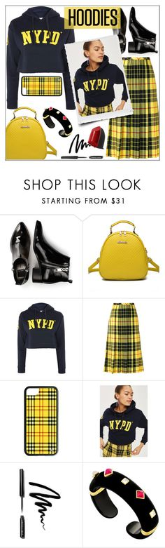"""In My Hood: Cozy Hoodies"" by pat912 ❤ liked on Polyvore featuring Dolce Vita, WithChic, Bobbi Brown Cosmetics, Margot McKinney, Hoodies and polyvoreeditorial"