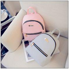 a moderno piel sintetica mini mochila viaje bolso escuela mochila bolso estrictas Cute Mini Backpacks, Grey Backpacks, Stylish Backpacks, Leather Backpacks, School Backpacks, Mini Mochila, Women's Mini Backpack, Backpack Bags, Small Backpack