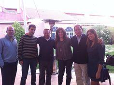 15 Marzo 2012. Primera reunión de #RRHHMad. En la foto de izquierda a derecha: Juan Martinez, Ángel F. Plaza, Andres Pérez Ortega, María Luisa Moreno Cobián, Jaime Pereira y Laura Chica