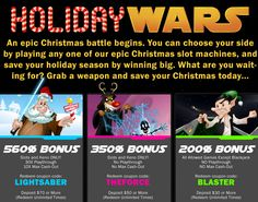 Virtual Casino December Christmas Bonus Coupon Codes