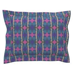 Sebright Pillow Sham with Flanged Detail featuring Popskou by joancaronil | Roostery Home Decor