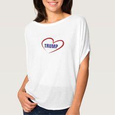 LOVE TRUMP WOMEN'S BELLA FLOWY TOP