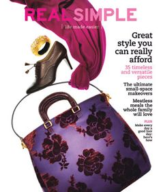 Real Simple magazine covers | Browse All Holidays Entertaining Gifts Real Simple Gift Guide App ...