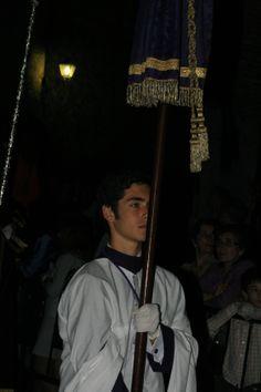 Fotografía de Juan Gallardo González. Jueves Santo -Ciudad Real- Realizada con una cámara fotográfica. FUERA DE CONCURSO