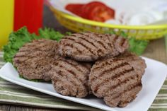 100-Calorie Beef Patties
