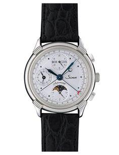 Sinn Model 6015 St / The classically elegant chronograph.