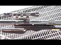 Sinon Cosplay - How to make PGM Ultima Ratio Hecate II - YouTube