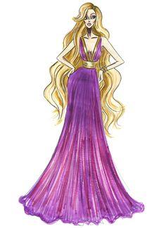 Disney Princess Fashion, Disney Princess Rapunzel, Punk Princess, Princess Art, Disney Style, Disney Art, Disney Fashion, Princess Tattoo, Disney Illustration