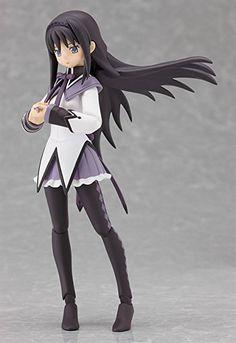 Amazon.com: Good Smile Puella Magi Madoka Magica: Homura Akemi Figma Action Figure: Everything Else