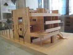 Model of Le Corbusier's Villa Stein