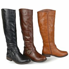 These stylish boots feature soft faux leather that rises to the knees. Toe shape: Round. Style: Back zip. Color options: Black, brown, chestnut. Sole material: TPR. Lining: Faux fur. Cara Dune, Blundstone Boots, Thing 1, Stylish Boots, Brown Shoe, Spring Shoes, Knee High Boots, Winter Boots, Ankle Strap