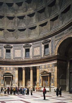 Thomas Struth (German, b, 1954). Pantheon, Rome, 1990. Chromogenic print. Private collection, New York