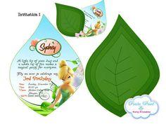 202 best 3d invitations images on pinterest invitations birthday tinkerbell invitation solutioingenieria Choice Image