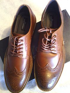Look what I found on @eBay! http://r.ebay.com/PhnTN4 Marc Anthony men wing tips dress shoes