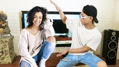 "LIZA KOSHY VS HELLOGUM DANCE BATTLE (DANCING WITH LIZA & HELLOGUM) BOUNCING WITH LIZA KOSHY IN A DANCE BATTLE WHO WINS?? DON'T LAUGH I KNOW I CAN'T DANCE BTW DON""T TELL DAVID DOBRIK. THANKS FOR WATCHING!! SUBSCRIBE & DROP A LIKE PLS Liza Koshy her video DOING WHAT I LOVE! DANCING WITH LIZA: https://www.youtube.com/watch?v=sr44ILr19xo&t=96s N.E.R.D & Rihanna - Lemon https://www.youtube.com/watch?v=L_u97PqWX6g Can we get this video to 1000 likes?!  INSTAGRAM  http://bit.ly/HellogumIG…"