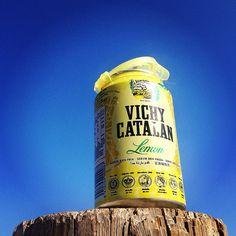 Vichy Catalán Lemon en lata