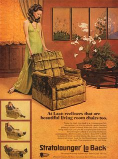 The Vintage Home: Better Homes And Gardens 1972 - Flashbak Retro Advertising, Vintage Advertisements, Vintage Ads, Vintage Posters, Vintage Homes, 70s Decor, Retro Home Decor, 70s Furniture, Vintage Furniture