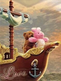 MDR... Représentation du film Titanic ;) trop mignon <3