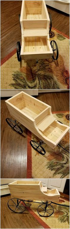 Have some waste wood pallet planks gathered from your house, arrange them in one vertical and horizontal positioning to create an ideal piece of the wood pallet wheel barrow interesting creation for your use. It is customize designed at the best to make it use perfectly for your outdoor areas.
