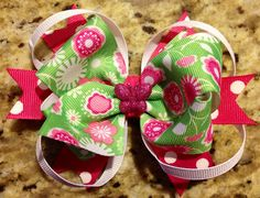 DIY hair bows for girls, toddlers, and infants :) Ginana Belle's Bowtique & Crafts
