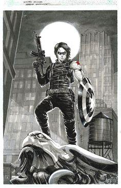 Bucky Barnes Captain America - Garrie Gastonny