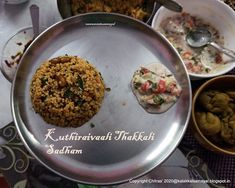 Tamil : Kuthiraivaali thakkali sadham; English : Barnyard millet Tomato Rice Millet Recipes, Rice Recipes, Vegetarian Recipes, Curry Leaves, Tomato Rice, Potato Curry, Yams