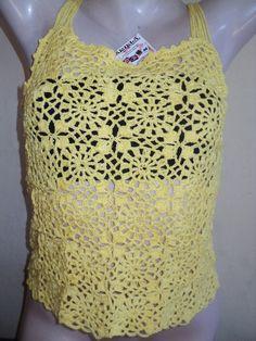 Blusa feita com linha 100% algodão. <br> Feita na cor desejada. <br> <br>OBS: A confecção se inicia imediatamente após a confirmação da compra pelo MOIP, RESPEITANDO AGENDA DE ENCOMENDAS.