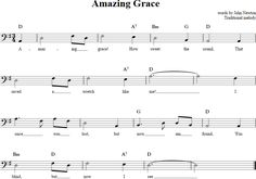 Amazing Grace Cello Sheet Music - http://cellosheetmusic.net/title/amazing-grace/