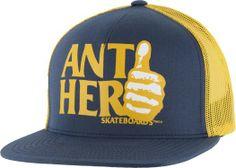 Anti-Hero Thumbs Trucker Hat - Men's Clothing > Hats & Beanies > Hats