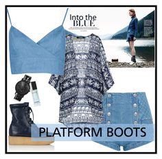 """Platform boots"" by out-of-styles on Polyvore featuring Mode, Pierre Balmain, Gabriela Hearst, Chanel und South Lane"