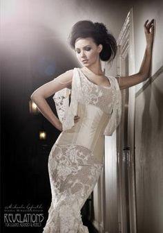 Revelations - unique wedding dress