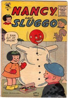 Nancy and Sluggo.