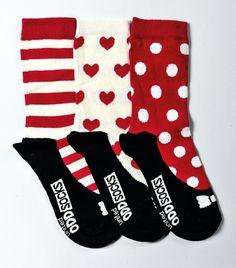 United Oddsocks - Girl Ballet Socks - Size 12-5.5