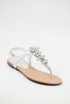 b0a56d5e4f7 18 Best Silver sandals images