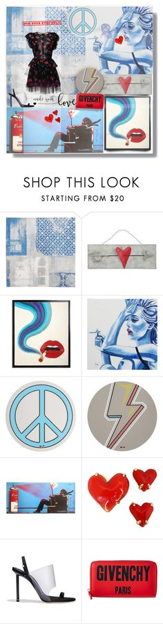 """""""For Your Eyes Only 🎶💭👁💋👁"""" by selmendonca ❤ liked on Polyvore featuring Seletti, Givenchy, Alexander Wang and MSGM"""