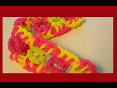 CREEPY CRAWLER bracelet made on a hook. Designed and loomed by Cheryl Mayberry. Click photo for YouTube tutorial. 06/17/14.