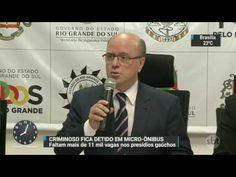 SBT Brasil (16/11/16) Por falta de vagas em presídios, bandido fica deti...