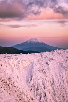 PhotoScrap: Yuga Kurita Mount Fuji Southern Alps December Winter