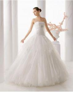 Vestidos de novia de tul en estilo princesa