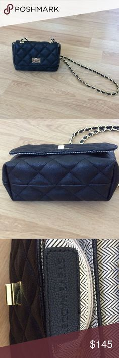 Authentic Steve  Madden Evening Bag Only used once. Bought this bag for an event and never used again. In very excellent, new condition. No scratches. Steve Madden Bags Crossbody Bags