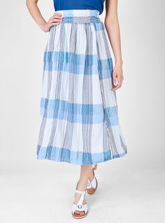 Couverture and The Garbstore - Womens - Ace & Jig - Ra Ra Reversible Midi Skirt