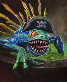 CaptainCookie, in alex  horley's World of Warcraft Comic Art Gallery Room - 1002432