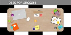 Feng Shui: The Ultimate Guide to Designing Your Desk for Success #wellness #organize