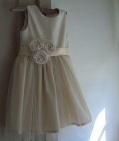 Flower Girl dress by OliveandFern